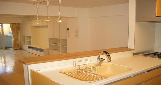 キッチンリフォーム例のイメージ